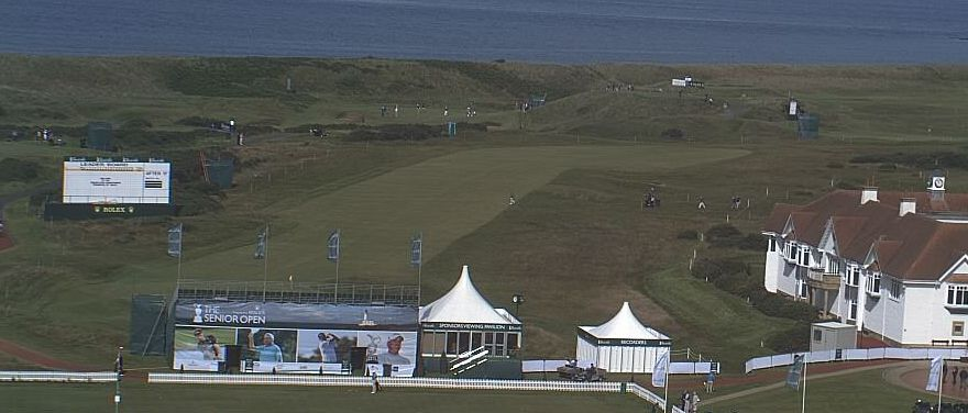 All set for the Senior Open Championship, July 2012