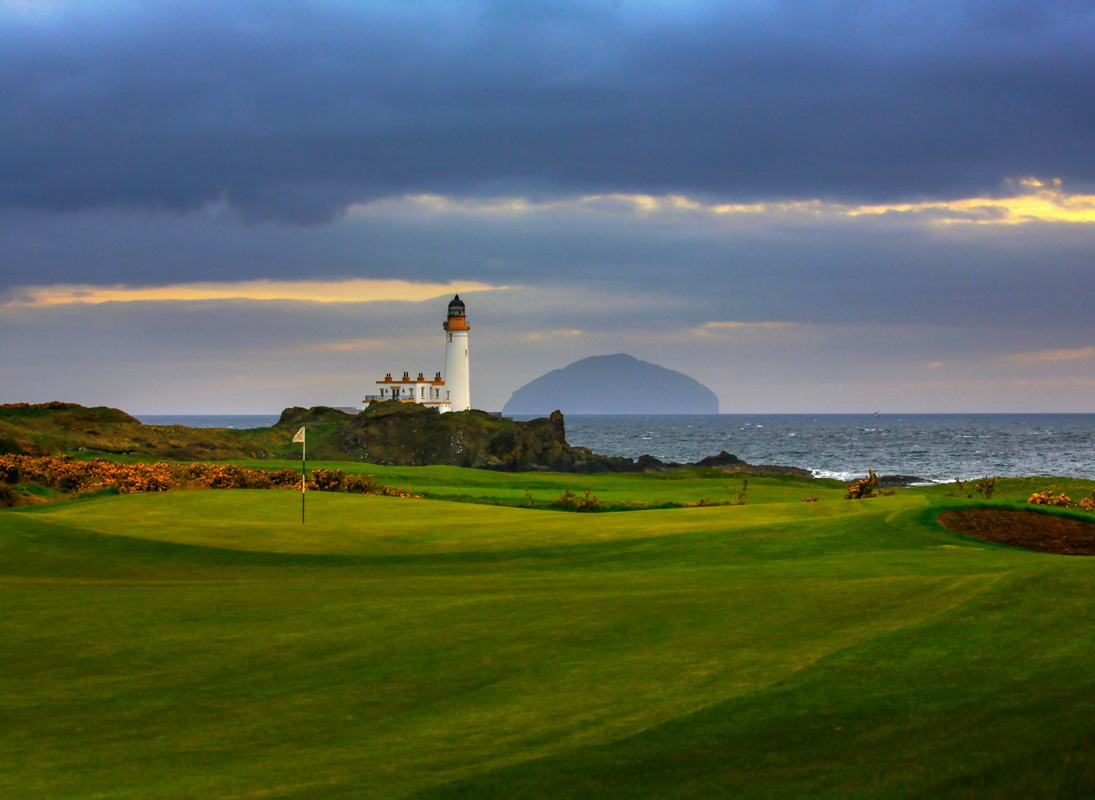 Turnberry from the Tips