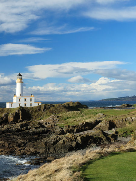 The Ailsa - 9th hole