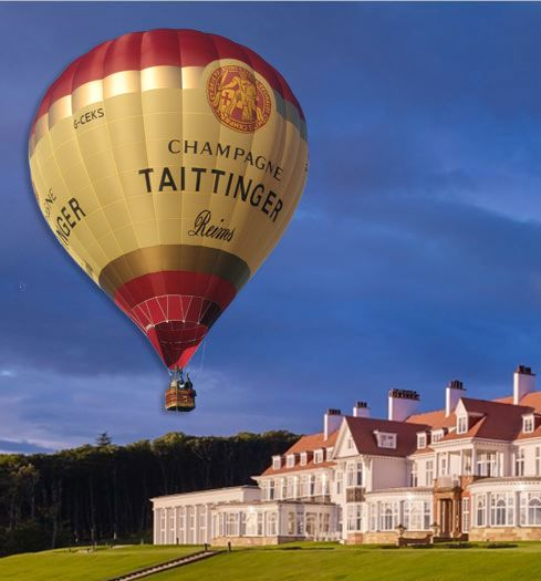 Take flight with Turnberry and Taittinger
