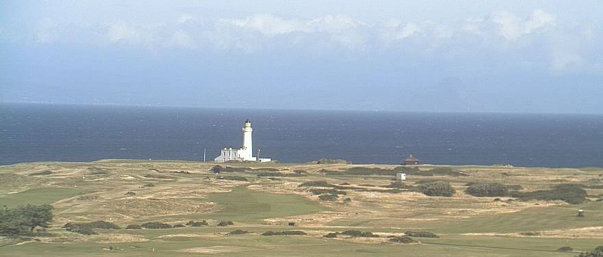 A favourite view from Trump Turnberry - The iconic Turnberry Lighthouse